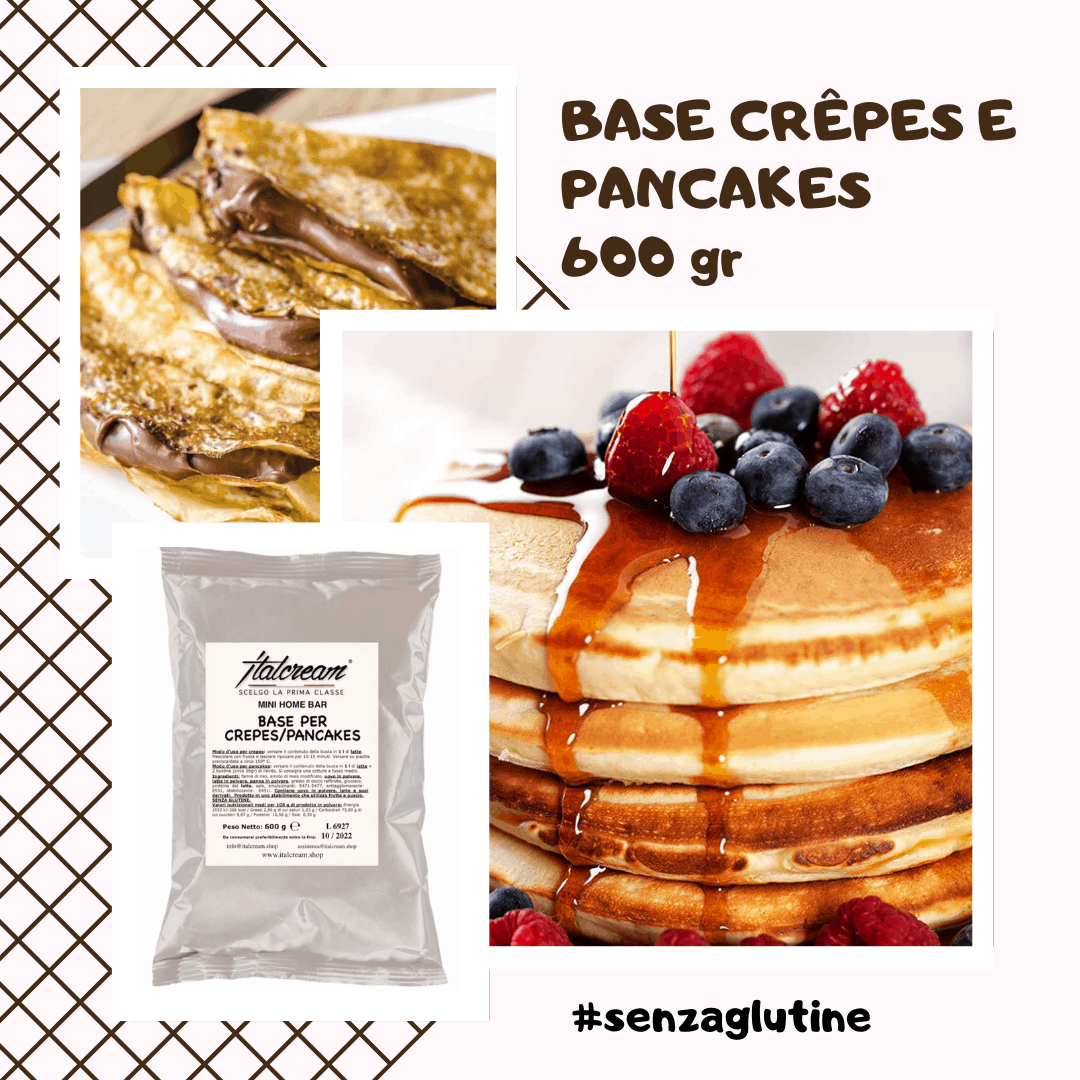 Base Crepes e Pancake - Italcream
