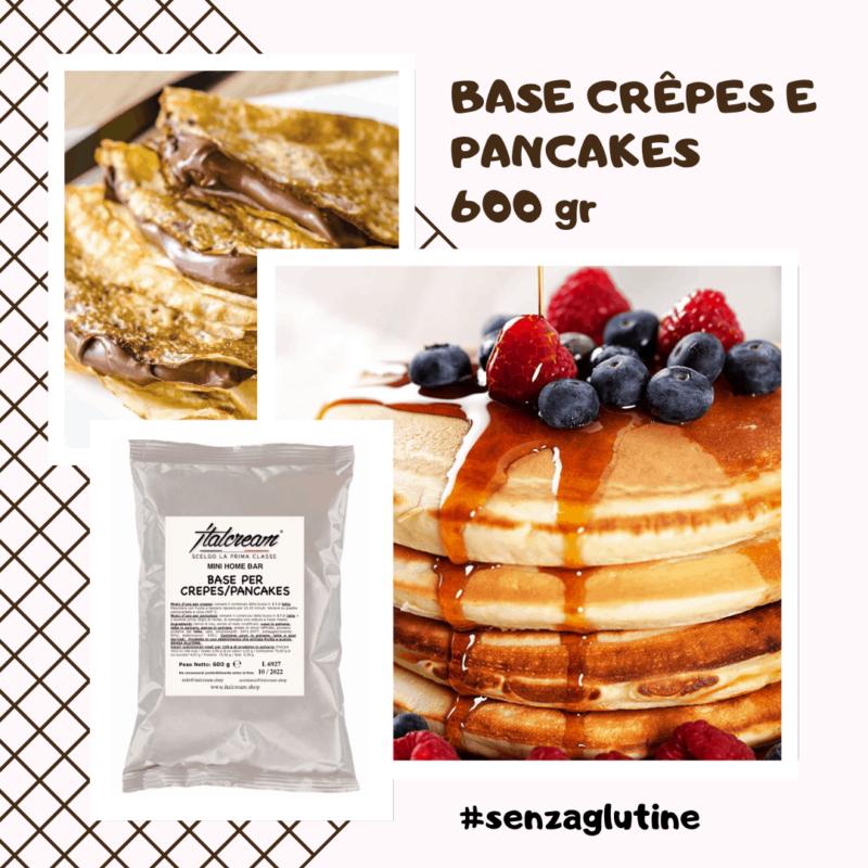 Base crêpes e pancakes 600g - Italcream