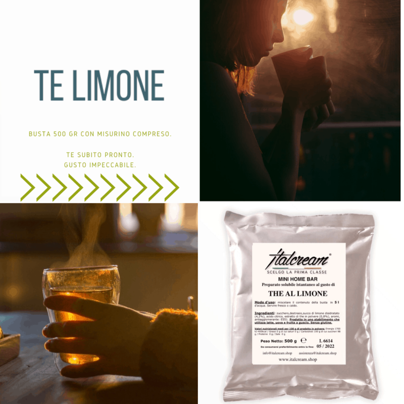 Té al Limone - Italcream